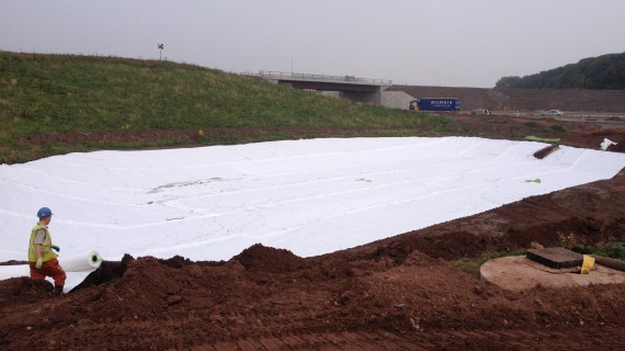 Lining Geomembrane HDPE