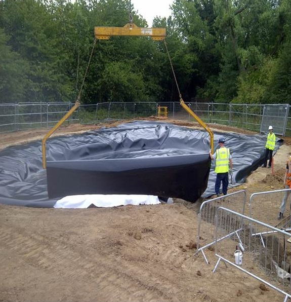 Installation Of Waterproof Liner Systems
