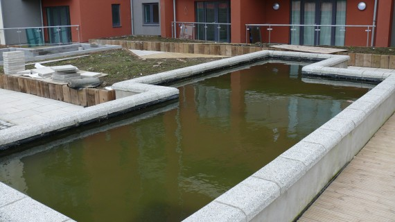 Geomembrane Pond Liner Installation