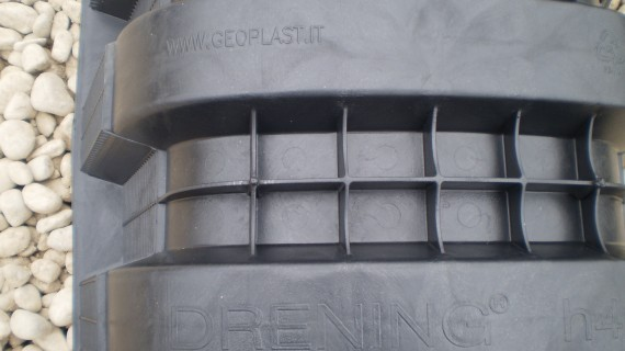 Drening Chambers modular arched storage chamber for stormwater infiltration or attenuation