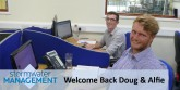 Stormwater Management Ltd welcomes back Doug and Alfie